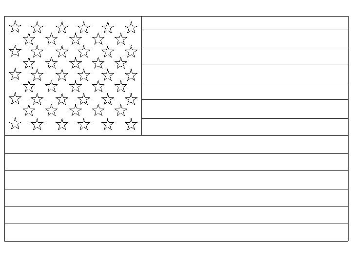 american flag colour in