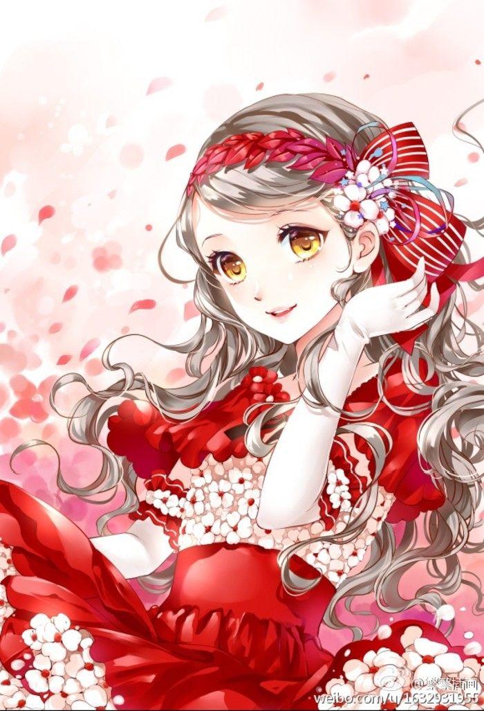 300 best art by enakei anime images on pinterest - Girly girl anime ...