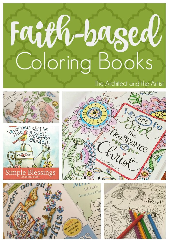 Back In November I Did A Post On Faith Based Coloring Books