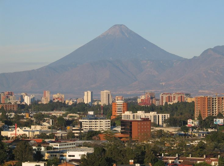 Ciudad de Guatemala in Guatemala; Miguel Ángel Asturias was born in this town of the Guatemalan volcanic plain and went on to win the Nobel Prize for Literature.