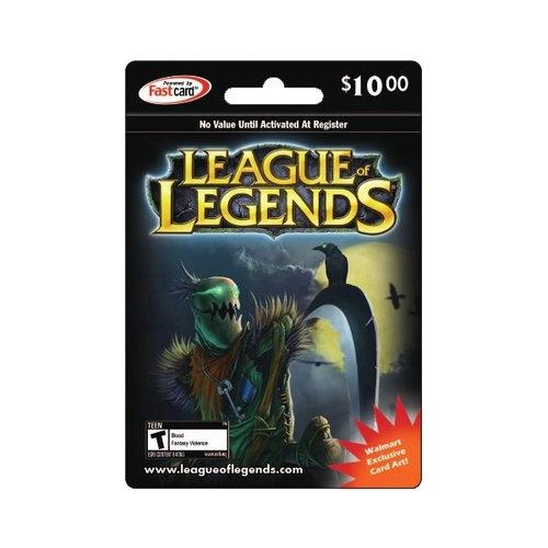 League of Legends Riot Points, $10