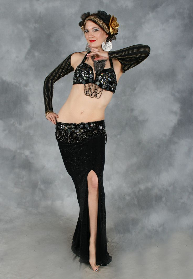 94 best images about Black Belly Dance Costumes on ...