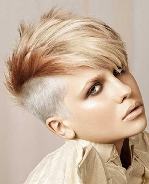 20 Best Punky Short Haircuts   http://www.short-haircut.com/20-best-punky-short-haircuts.html