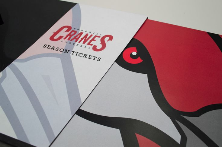 """Check out this @Behance project: """"Sandhill Cranes Football: Season Ticket Package"""" https://www.behance.net/gallery/12062649/Sandhill-Cranes-Football-Season-Ticket-Package"""