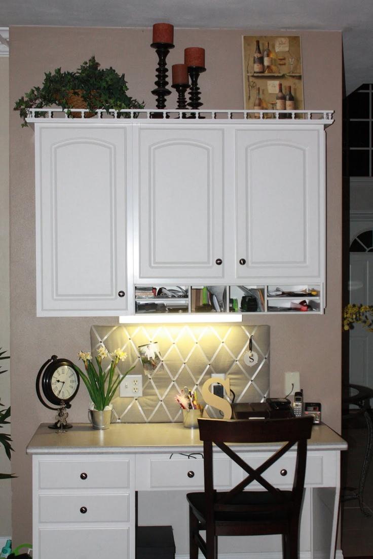 Kitchen Desk ideas. The decorations   Kitchen desk ...