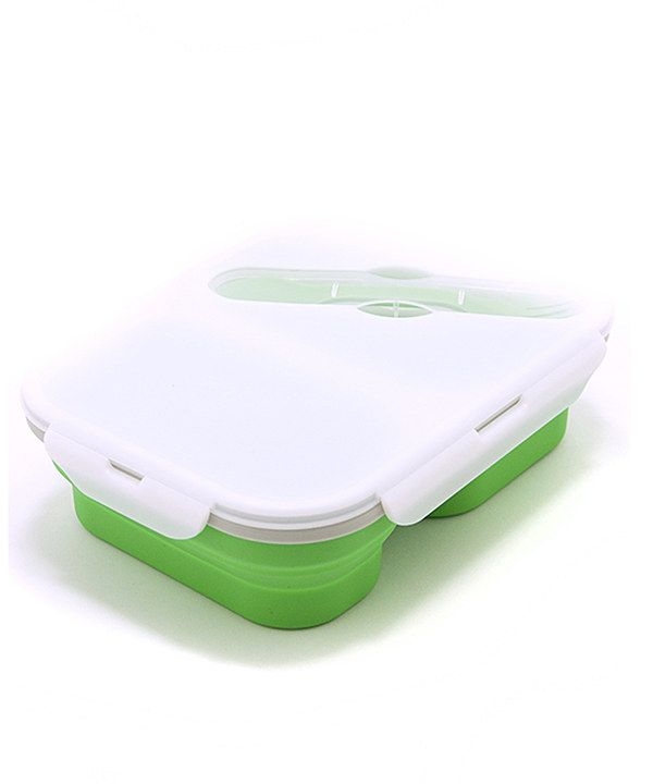 Eco Vessel Green SmashBox Double-Compartment Lunch Box by Eco Vessel #zulily #zulilyfinds