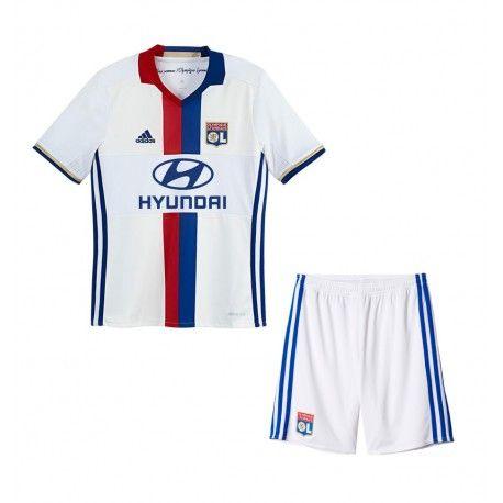 Camisetas del Olympique Lyonnais para Niños Home 2016 2017