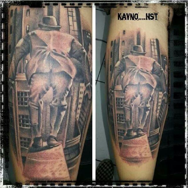 No my original but fun tattoo to lay down