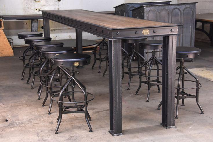 Firehouse Bar Table