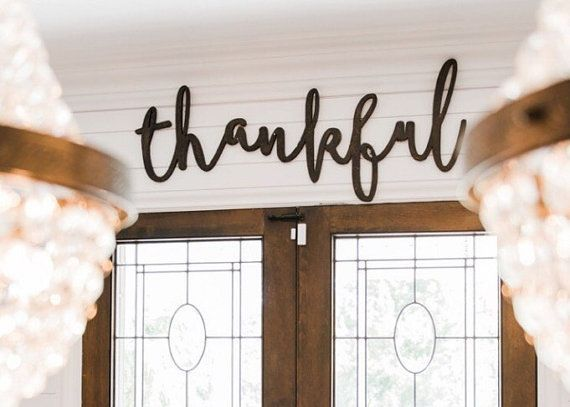 Hey, I found this really awesome Etsy listing at https://www.etsy.com/listing/481351451/large-thankful-word-wood-cut-wall-art
