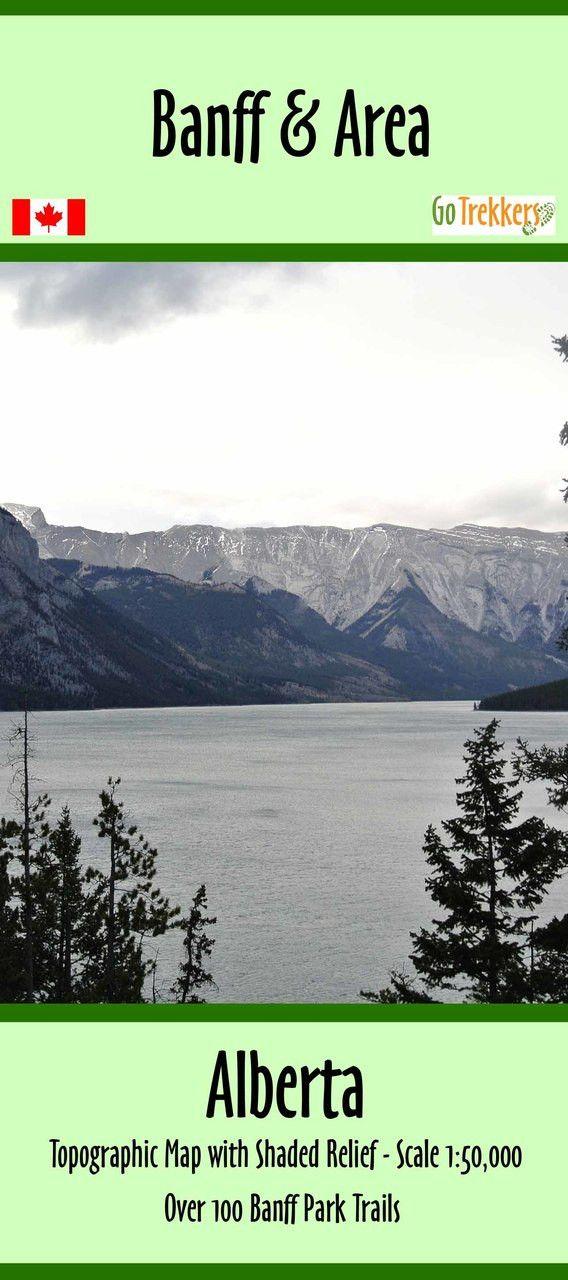 Banff National Park map | Canada National Park | by GoTrekkers