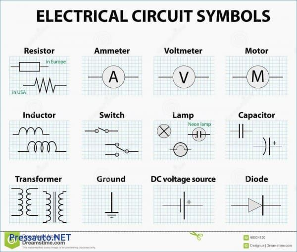 Wiring Diagram For Electric Components - Wiring Diagram K8