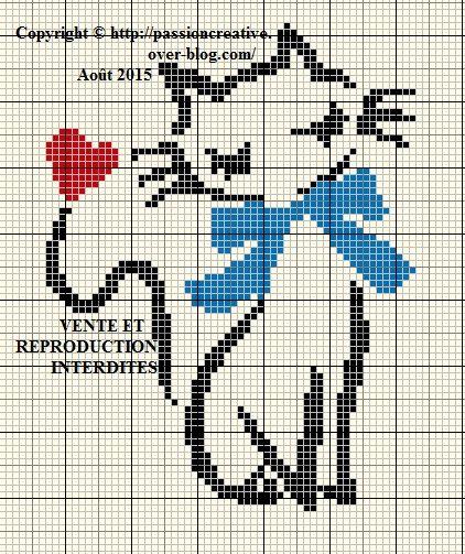 17 best images about grille point de croix on pinterest perler bead patterns punto de cruz - Grille point croix gratuite ...