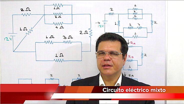 Circuito eléctrico mixto complejo. Curso de Electricidad - Clase 12