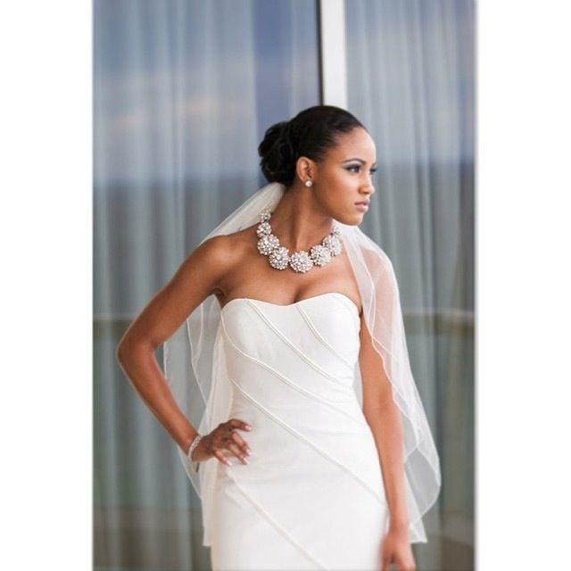 Gorgeous Real Brides Beautiful Women Black Brides Curvy