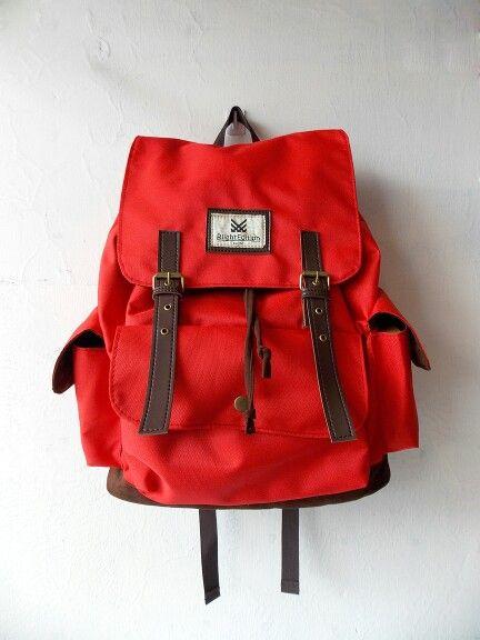Backpack, Olive Red RLIGHT - Rp213.000