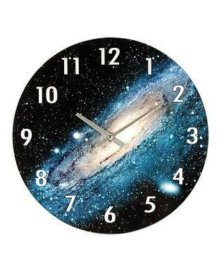 Milky Way Wall Clock  It is easy to find fantastic, easy and fun home decorating ideas by looking at cute, trendy and stylish home decor accents.  In fact it is so easy to combine elements from various home decor themes such as vintage, shabby-shic, tuscan and rustic and combine them with victorian, abstract, modern or even beach decorative accents.