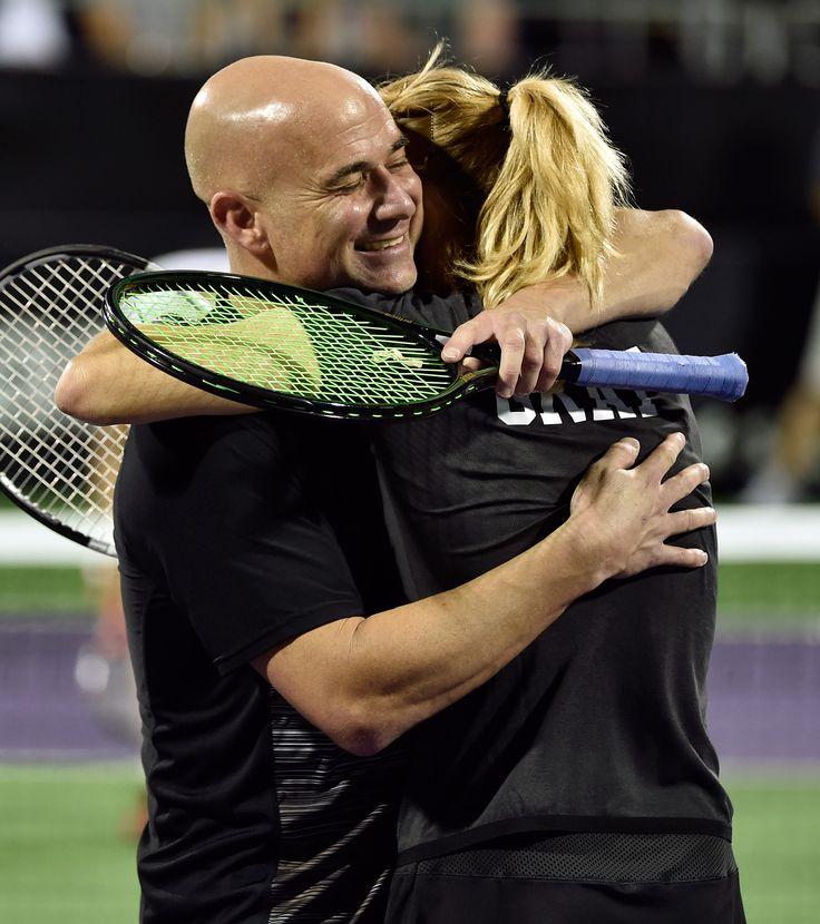 Steffi Graf und Andre Agassi sind immer noch verliebt wie am ersten Tag – und spielen auch noch so Tennis