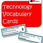 Like all subjects technology skills comes with a certain amount of vocabulary that students need to understand in order to complete assignments.  T...