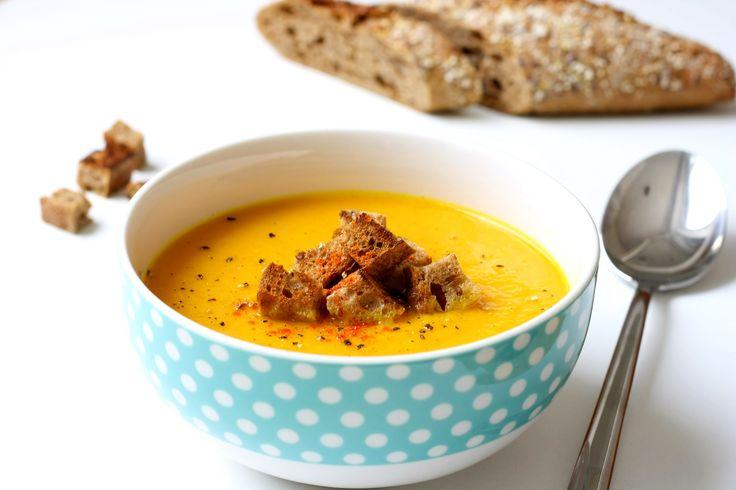 Supa-crema de morcovi