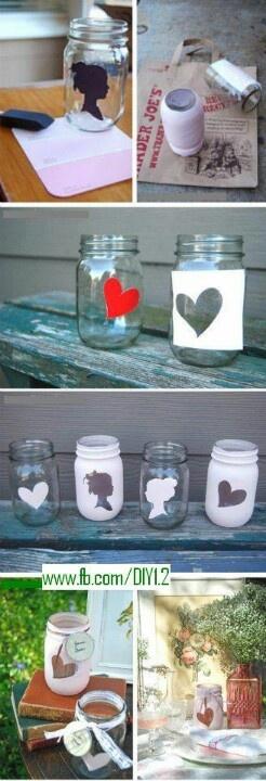 DIY idea. cool decorating ideas. the heart one