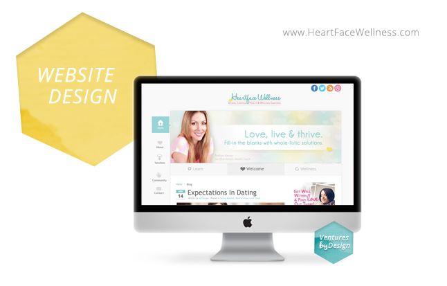 www.venturesbydesign.com Dating, Health & Wellness Coach - Site/Brand Design