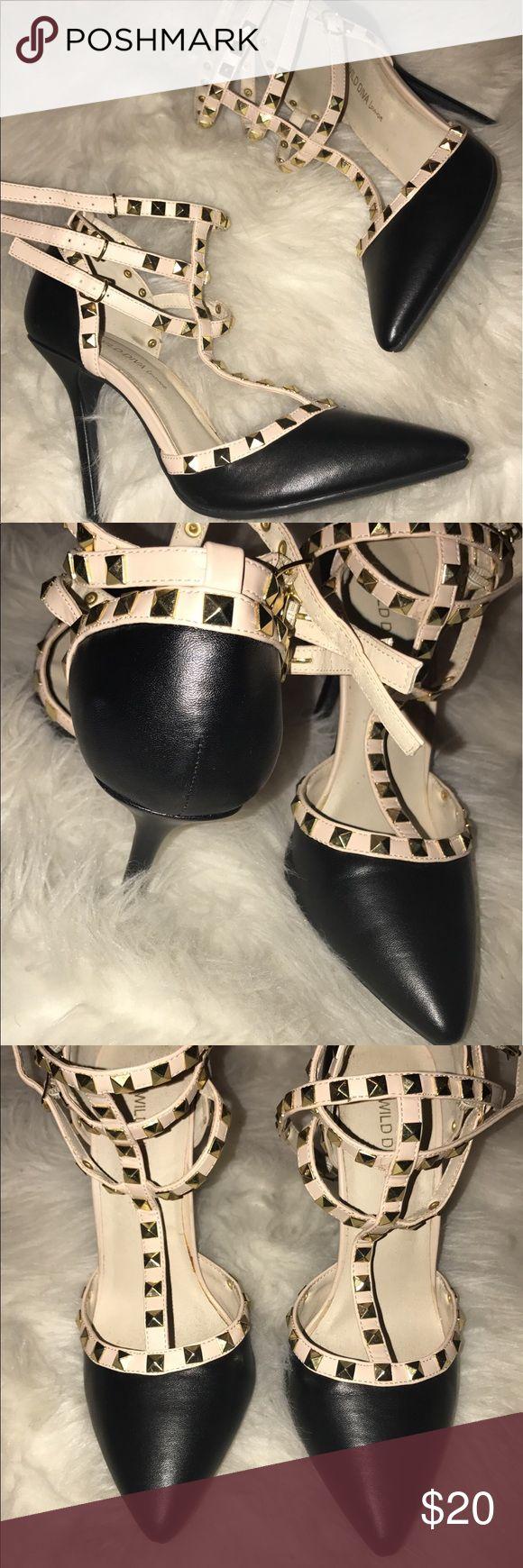 LOOK ALIKE - Valentino Rockstud Worn once! Comfy! Shoes Heels
