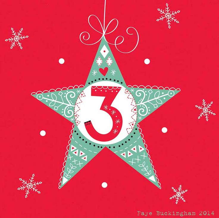 Day 3, Christmas Advent! Faye Buckingham 2014