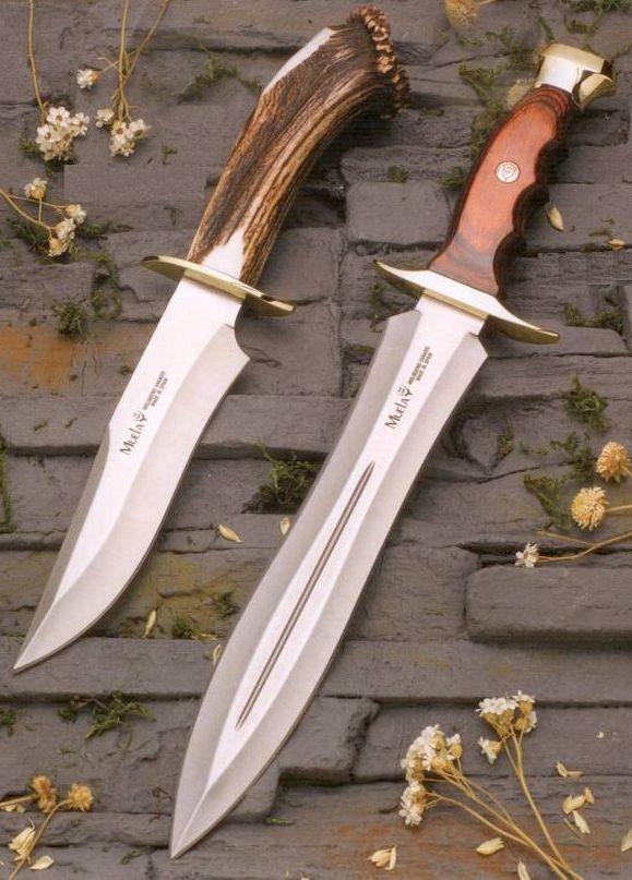 MUELA BW-24 Fixed Blade Hunting Knife with Leather Sheath @aegisgears #Knifeaddict