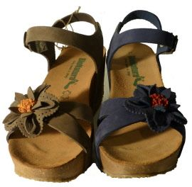 Womens wedge sandals made in Italy by Bionatura spring 2015