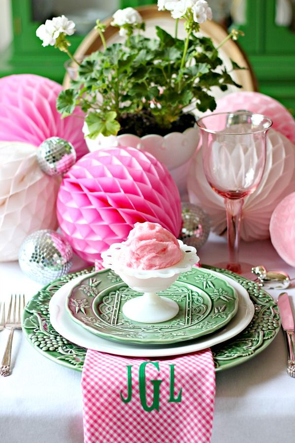 439 best Tablescapes images on Pinterest   Easter table settings ...
