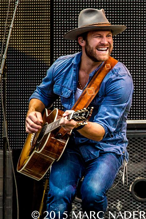Drake White and The Big Fire performing on the Zac Brown Band's Jekyll and Hyde Tour at Comerica Park in Detroit, MI on September 12th 2015 Photo by Marc Nader