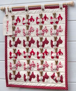 dog advent calendar by the dandy dog company | notonthehighstreet.com