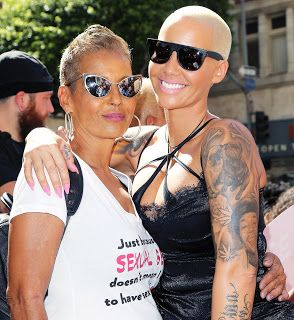 Amber Rose Mom Dorothy Is Black  Amber Rose's mom Dorothy is black. She's from Cape Verde. She has a very light complexion but that doesn't mean she's not black. Cape Verde is an island country located 350 miles off the coast of West Africa. Scroll to the video at the end of this article to hear Amber Rose's response to Kodak Black.  Kodak Black is the latest entertainer to get caught up in the light skin dark skin debate. The sad truth is many rappers make it clear that they prefer light…