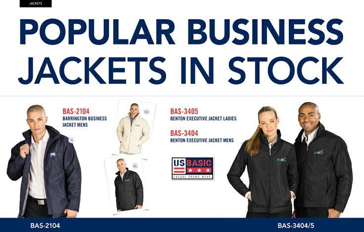Popular US Basic Business Jackets