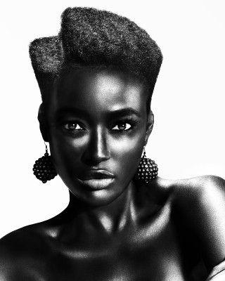 Hair: Charlotte Mensah, Hair Lounge, LondonPhotographer: John Rawson, The Rawson Partnership -Make-up: Nana Yaa Grant