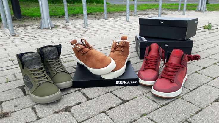 Just some of the new Autumn 2017 styles from Supra