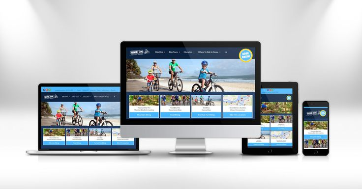 How to make bookings easy. Check out the new book-a-bike website for Bike On, Sunshine Coast bike hire business.