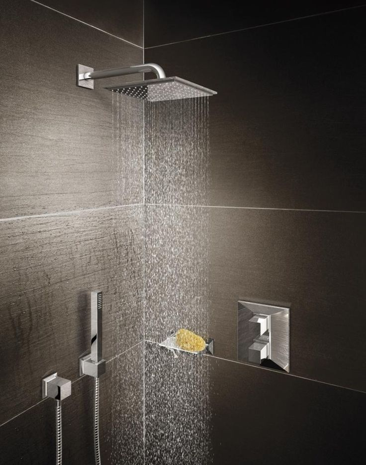 Get the perfect temperature every time you shower with the Allure Brilliant thermostatic shower mixer. The sharp-edged design adds a sharp glamour to your scheme. #shower #spa See it here: http://www.grohe.co.uk/en_gb/bathroom-collection/mixer-taps-allure-brilliant.html Order it from www.PierceHardware.com