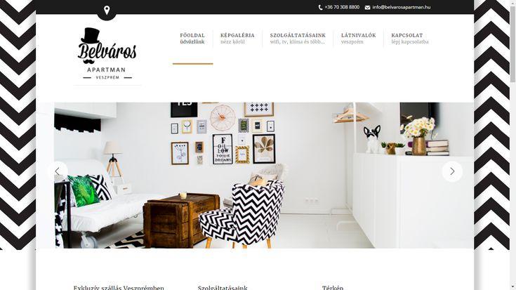 Weboldalkészítés | www.belvarosapartman.hu