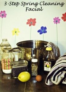 3-Step Spring Cleaning … For Your Face!