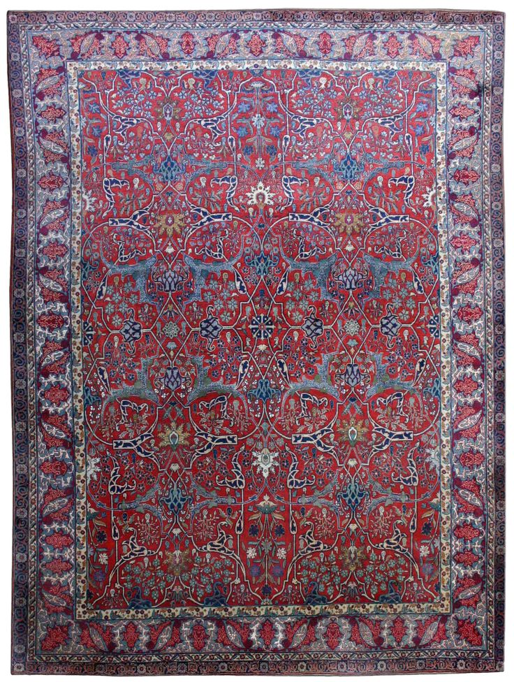 Item No Bb2550 Circa 1920 Persian Rugpersian