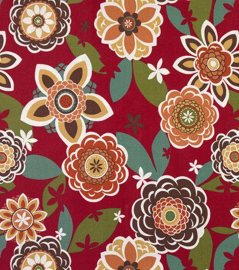 Outdoor Fabric- Solarium Annie Cherry | fabrics
