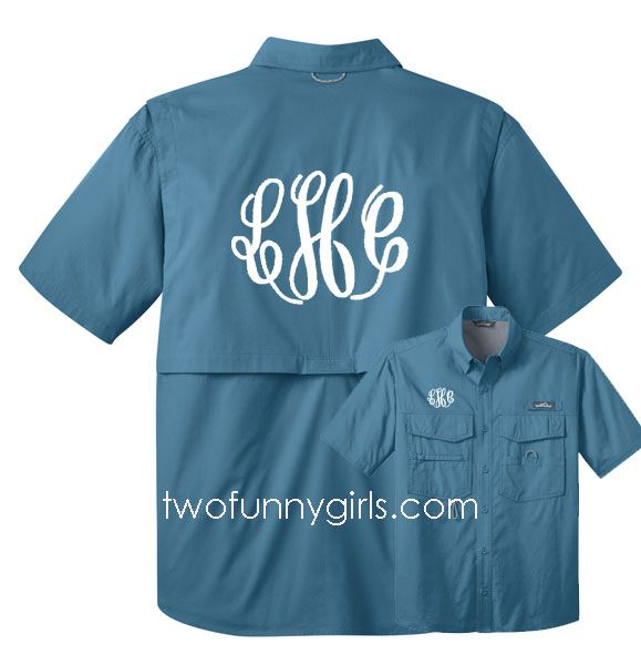 31 best images about columbia fishing shirts sale on for Monogrammed fishing shirts