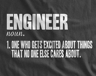 Definition of An Engineer T-Shirt Engineering T-Shirt Gifts for Engineers Father's Day Gifts for Dad Family Mens Ladies Womens T-shirt