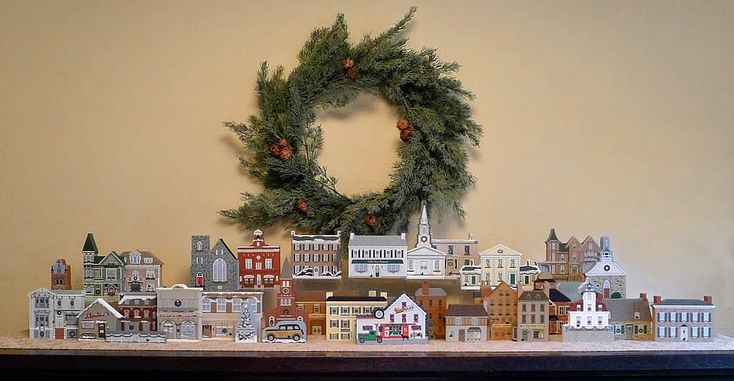Christmas Birthday = Cat's Meows | Collector, Susan Boyer shares her Christmas display | The Cat's Meow Village