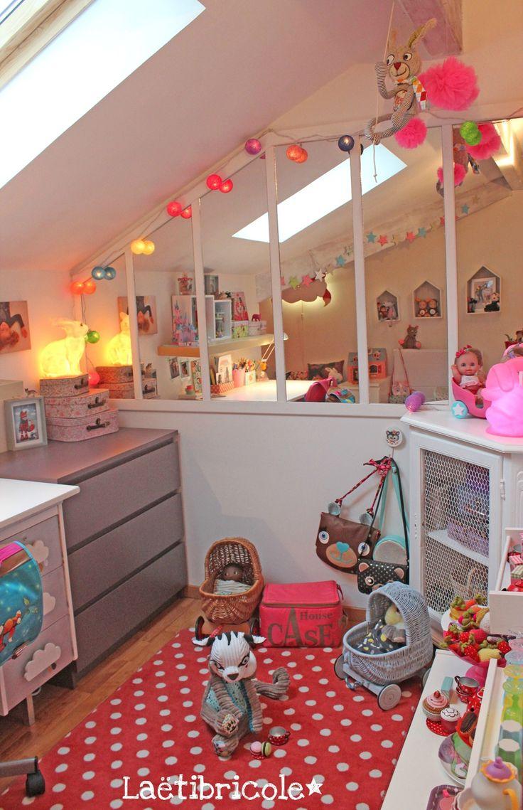 17 meilleures id es propos de bureau pour adolescente sur pinterest bureau de fille d cor for Pinterest chambre enfant verriere