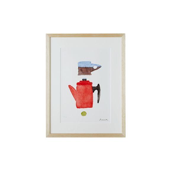 IDEE SHOP Online 柚木 沙弥郎 「ティータイム」: アート・オブジェデザイン家具 インテリア雑貨: