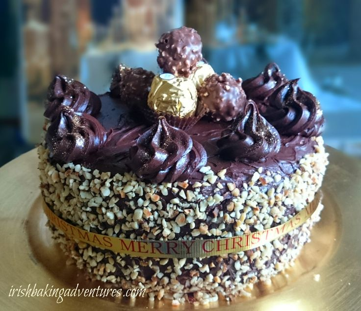 FERRERO ROCHER CHOCOLATE GATEAUX FoodBlogs.com  .. A NEW YEAR TREAT