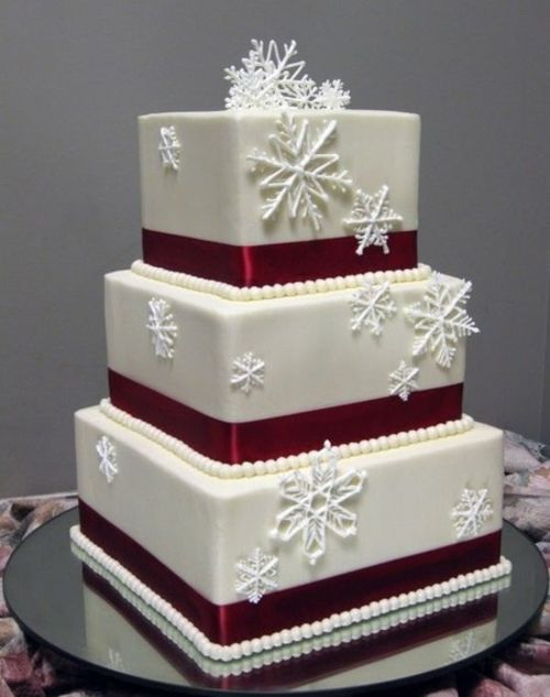 20 Christmas Cakes That Will Amaze You Winter Wedding
